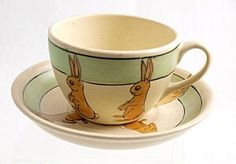 Coffee in this would be special.  (Roseville Pottery Co., c.1910-24)