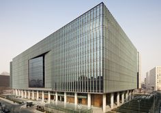 China Huaneng Group Headquarters in Beijing by Kohn Pedersen Fox Associates