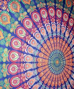 Sophia Art Cortinas para Ventana con dise/ño de Mandala de Elefante Hippie Bohemio Indio para balc/ón decoraci/ón de habitaci/ón Cortinas Juego Bohemio Urbano Grande Ventana Tapiz