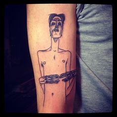 Tattoo You, Liam Sparkes (Egon Schiele artwork)