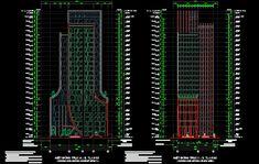 تصميم فندق من 25 طابقًا 5 نجوم بشكل مميز اوتوكاد dwg * 25 دور + 01 بدروم بإجمالي إرتفاع 88.2 م * تبلغ مساحة البناء الإجمالية أكثر من 17000 م 2 * مساحة الارض: 1500 م 2 هيكل أساس الدعامة ، ونظام الإطار الخرساني المسلح باستخدام الأرضية ، والعارضةبعض الصور من رسومات AutoCAD للمشروع. تحميل عل مديا فاير باسورد فك التشفير :www.ing50uf.com.المصدر : خرشات مهندس | www.ing50uf.com | أرجو عدم النقل من دون ذكر المصدر !