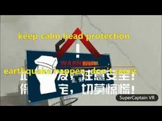 Super Captain New application VR safety science popularization:elaborate earthquake drill it's Chinese version,it can customize the English system version or. Vr Application, Keep Calm, Safety, Science, Security Guard, Stay Calm, Relax