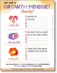 Growth Mindset Printables Kits 1 2 PDF