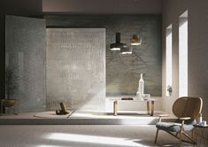 Reggio Emilia, Decorative Panels, Home Wallpaper, Textured Wallpaper, How To Take Photos, Industrial Style, This Is Us, Mirror, Furniture