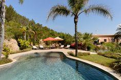 Ibiza Panoramic garden - 7 bedroom villa in Santa Eulalia hills. by Kelosa Entrance Hall, Terraces, Luxury Villa, Ibiza, Property For Sale, Swimming Pools, Santa, Gardens, Country