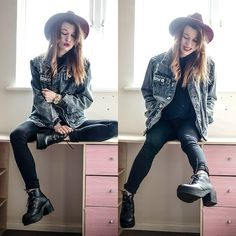 Agata P - Jacket, Boots - All Of My Kindness Is Taken For Weakness