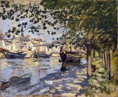 Seine at Rouen - Claude Monet 1872 Impressionism