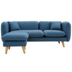 Buy Scandinavian corner sofa Beige 58759 in the UK Sleeper Sofa, Sofa Bed, Couch, Nordic Sofa, Soft Seating, Sofa Upholstery, Best Sofa, Corner Sofa, Scandinavian Style