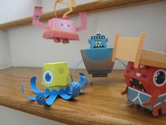 Papertoy Monsters, a fun cardboard creature making book