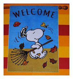 Peanuts Large SNOOPY & WOODSTOCK WELCOME FALL AUTUMN HOUS... https://www.amazon.com/dp/B01M05DXTG/ref=cm_sw_r_pi_dp_x_TqXlybB5MS7SA