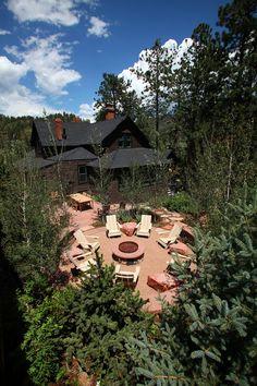 The Outlook Lodge, Green Mountain Falls, Colorado