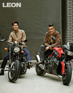 Girolamo Panzetta and Kim Woo Bin, for Leon magazine