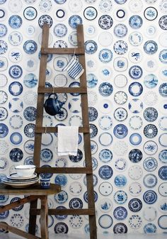 pOrcelain wallpaper from www.bodieandfou.com