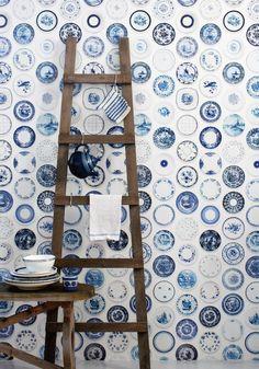 Wallpaper | Porcelain