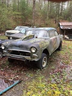 Classic Cars – Old Classic Cars Gallery Custom Rat Rods, Abandoned Cars, Abandoned Vehicles, 1955 Chevy Bel Air, Vintage Pickup Trucks, Car Part Furniture, Chevy Muscle Cars, Rusty Cars, Old Classic Cars