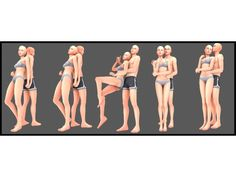 Toddler Poses, Teen Poses, Sims 4 Couple Poses, Couple Posing, Sims Challenge, Sims 4 Stories, Sims 4 Piercings, Sims 4 Family, The Sims 4 Skin