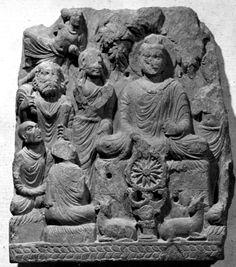 The First Sermon Dharmachakra parvartana