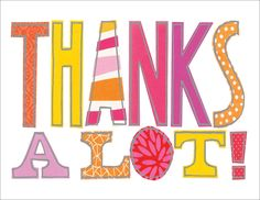 Thanks A Lot Boxed Notecards Susan Black, Thank You Notes, Note Cards, Me Quotes, Doodles, Greeting Cards, Thankful, Collage, Logos