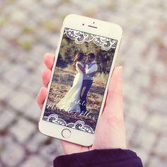 Snapchat Geofilter Wedding Bridal Shower Baby by BrightPaper