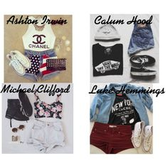5sos outfits - Google Search