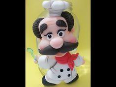 Cabeça de Boneca - 3 tipos em Biscuit . - YouTube
