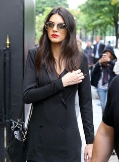 Kendall jenner celeb street style