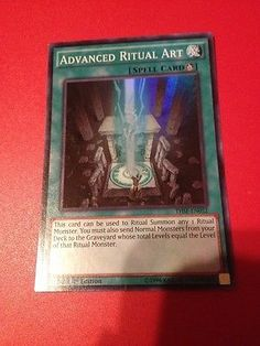 Yu-Gi-Oh-1x-Advanced-Ritual-Art-THSF-EN052-Super-Rare-1st-Edition-MP