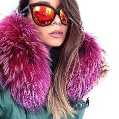 PINK PASSION   Austrian Fashion Blogger @the18thdistrict fell in love with our ParadiseCollection Parka. Amazing picture - we love it!   #Parka: WeLoveFurs.com  #WeLoveFurs #furparka #fur Parka: www.WeLoveFurs.com Photo taken by @welovefurs_com on Instagram