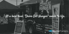 "During the Midas ""Drive Out Hunger"" campaign, a Midas truck drove across the country, donating a meal for every mile driven. From June 9th to July 17, they donated more than 800,000 meals, traveling 800,000 miles in 40 days.   Locally, the support was provided by hundreds of Midas dealers across the United States who turned the lobbies of their shops into rallying points for food collection."