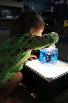 Overhead Projector color mixing