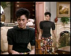 Blouses that look like they're on backwards: 23 Looks That Only Denise Huxtable Can Pull Off The Cosby Show, Black Chicks, Lisa Bonet, Dress Trousers, Afro Punk, Children Images, Girl Face, Dream Dress, Style Icons