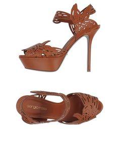 SERGIO ROSSI Sandals $648 #yoox