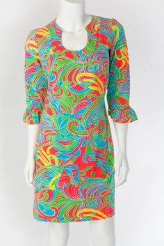 Katherine Way Collections - Naples Dress Swirl Coral, $117.00 (http://www.katherineway.com/naples-dress-swirl-coral/)