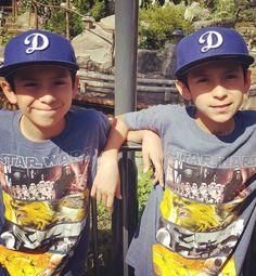 Had a blast at #DisneyLand yesterday but feeling it today lol #andrewandnakai#AndrewJunior#NakaiAndie #twins#twinning#firstborn#dodgers#LA #LosAngeles#losangelesdodgers#studs by andy84valenzuela