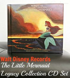 AD: The Little Mermaid Legacy Collection CD Set for All Disney Fans + Giveaway #disneymusic #enmnetwork | SavingSaidSimply.com