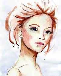 water color art , portrait project    ...BTW,Please Check this out:  http://artcaffeine.imobileappsys.com