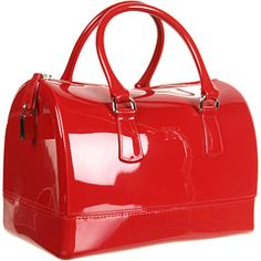 FURLA HANDBAGS CANDY S BAULETTO. Totally cute, but $200 for synthetic leather? I think NOT.