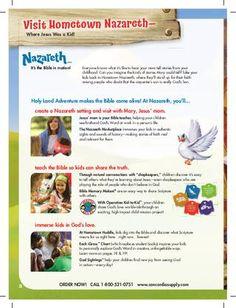 ISSUU - Hometown Nazareth VBS Catalog by Danny B