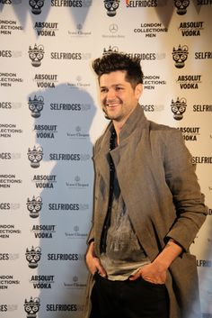 Rooftop party for London Collections: Men | Selfridges.com Danny from the Script #ManAboutTown