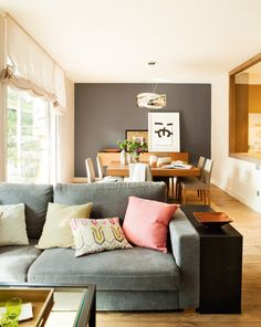 Cómo elegir el color para pintar el salón