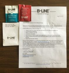 Free B-LINE Natural Energy samples #freestuff #freebies #samples #free