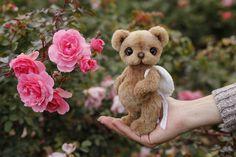 Artist collectible Teddy bear Alexander (OOAK) by TEDDYROOM on Etsy