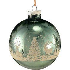 Glass Christmas Balls, Christmas Tree Ornaments, Christmas Crafts, Christmas Decorations, Hand Painted Ornaments, Glass Ornaments, Christmas 2016, Vintage Christmas, Old Fashioned Christmas