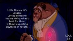 Beauty and the Beast Little Disney Life Lesson