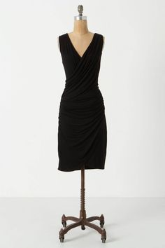 Candidasa Dress / Anthropologie  #littleblackdress...............I really want to be able to wear this and have it look great!