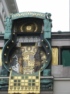 The famous Anker Clock at the Hoher Market in Vienna, Austria Art Nouveau, Bratislava, Bad Gastein, Europe Centrale, As Time Goes By, Voyage Europe, Central Europe, Historical Sites, Vienna
