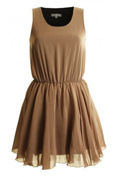 Tan Chiffon Tutu Skirt Dress BY In Love With Fashion - http://www.wagworldboutique.co.uk/brands/in-love-with-fashion #wagworldboutique #inlovewithfashion #bloggerswanted #blogger #blogs #fashionblog #fashionbloggers #streetstyle #cute #dress #summerdress #summerstyle #fashionhaul #stylist #ootd #outfitoftheday