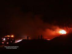 Conato incendio San Lorenzo Las Palmas de Gran Canaria