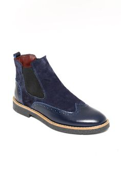 a5a8a25999d WSS WESSI MENSWEAR Kash Boots in Navy