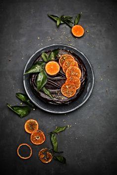 Bolo de clementina com ganache # Clementine cake with ganache (PRATOS E…